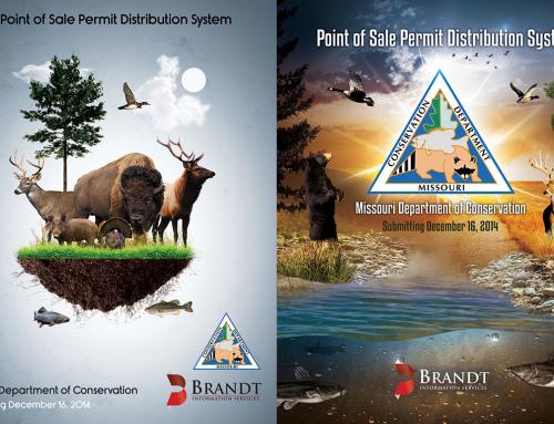 Brandt Information Services Ad Designs