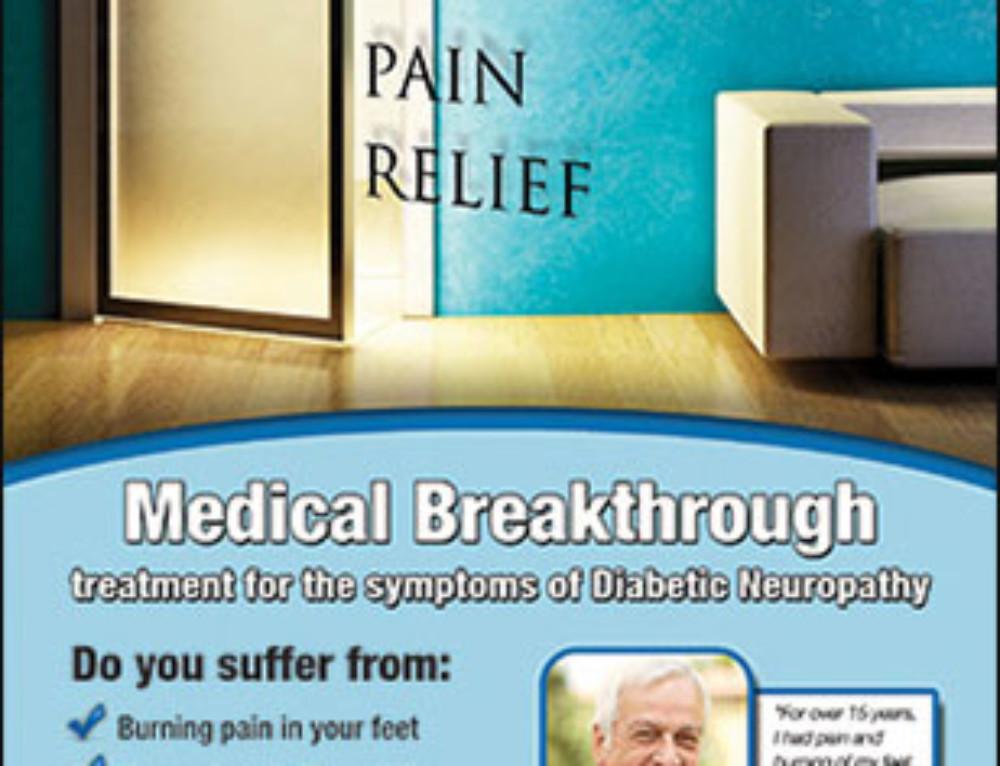 Neuropathy Print Ad