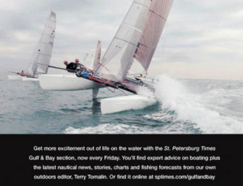 Gulf & Bay Newspaper Ad Design