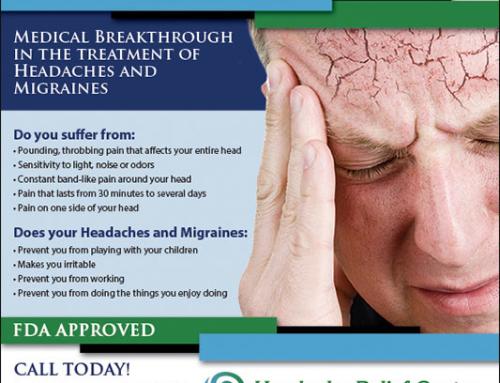 Headache Relief Center Print Ad