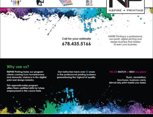 Nspire Printing Tri-Fold Brochure Design