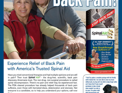 Get Free From Back Pain! Print Ad
