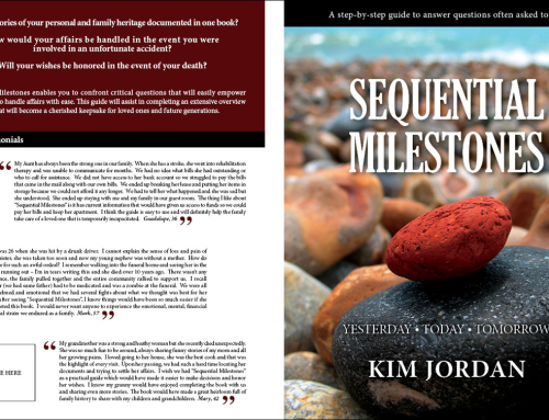 Book Cover Design for Sequential Milestones