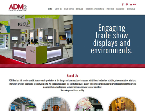ADM Two Website Development