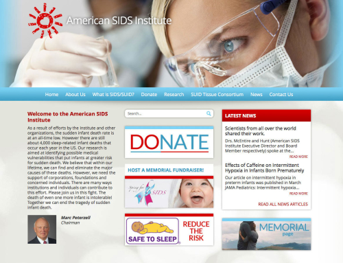 American SIDS Institute Website Design