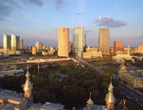 Downtown Tampa Drone Video