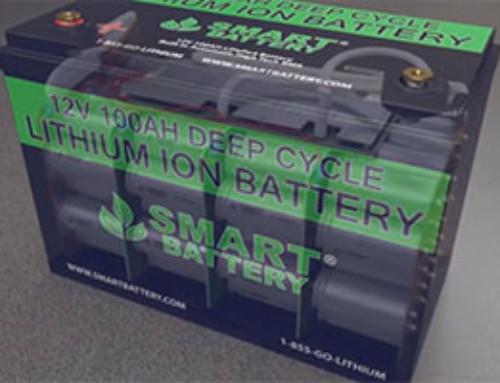 SmartBattery Lithium Ion Phosphate Batteries
